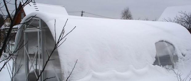 Підготовка теплиці до зими. Секрети обробки теплички