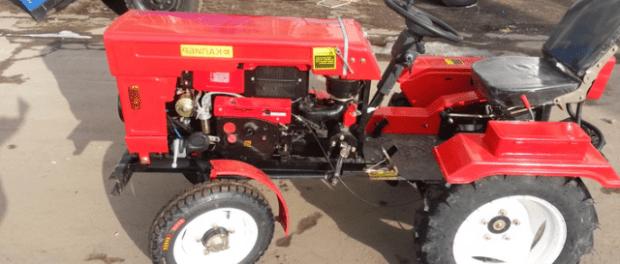 Саморобний трактор з мотоблока своїми руками