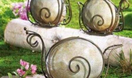 Вироби з природного каменю - як зробити своїми руками для дачі. Ідеї виробів з фото