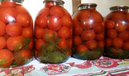 Консервування помідорів