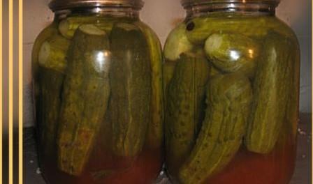 Мариновані огірки з кетчупом чілі