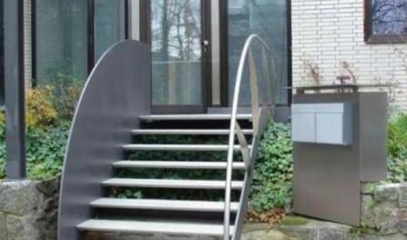 Металеві сходи виготовлення своїми руками