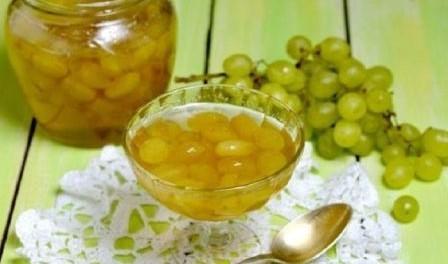 Як приготувати варення з винограду на зиму