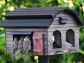 Годівниця для птахів своїми руками