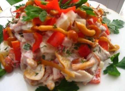 Рецепти салатів до нового року 2019