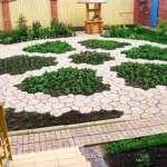 Форми для садових доріжок своїми руками