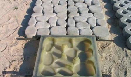 Відео: Як зробити тротуарну плитку в домашніх умовах для дачі