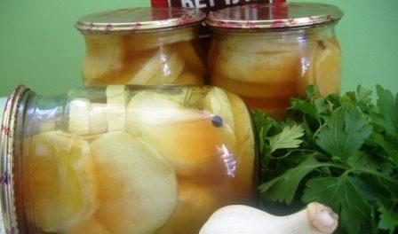 Як закрити кабачки з кетчупом Чилі на зиму рецепт приготування