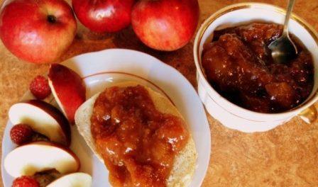 повидло з яблук з цукерками барбарис рецепт