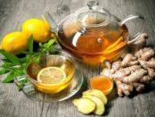 Імбирний чай: Кращі рецепти імбирного чаю