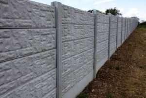 Види бетонних парканів