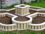 Бордюри для садових доріжок і клумб своїми руками