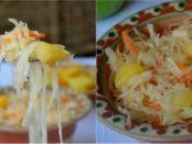 Маринована капуста з яблуками рецепт на зиму. Як приготувати в домашніх умовах