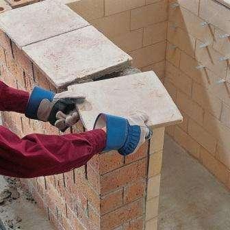 Як побудувати мангал з цегли з найпростішою конструкцією
