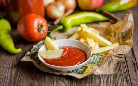 Кетчуп з яблучним соком - покроковий рецепт на зиму