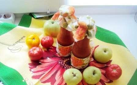 Кетчуп з болгарського перцю та яблуками