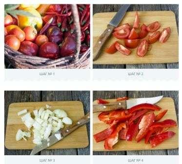 Кетчуп з болгарського перцю та помідорів