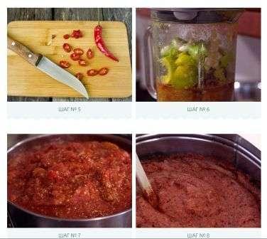 Кетчуп з болгарського перцю та томатів