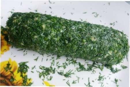 Салатний варіант заморозки окропу в фользі