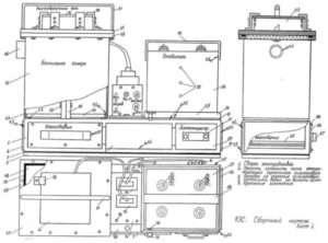 Електростатична коптильня - схеми і креслення